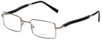 Gold & Wood Designer Reading Glasses 410.16-E6 in Silver 47mm