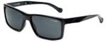 Arnette Designer Sunglasses Biscuit AN4208-4187 in Black & Grey Lens