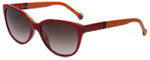 Carolina Herrera Designer Sunglasses SHE572-0897 in Red Orange