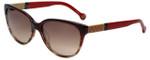 Carolina Herrera Designer Sunglasses SHE572-0ACL in Red