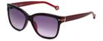 Carolina Herrera Designer Sunglasses SHE575-0J61 in Dark Red