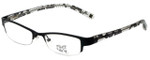 Hilary Duff Designer Eyeglasses HD121077-001 in Black Lace 49mm :: Rx Single Vision