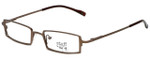 Hilary Duff Designer Eyeglasses HD121079-059 in Brown 48mm :: Rx Bi-Focal
