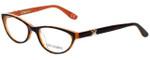 Corinne McCormack Designer Eyeglasses Riverside-COR in Tortoise Coral 52mm :: Progressive