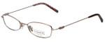 Coach Designer Eyeglasses HC308-Rose in Rose Gold 48mm :: Custom Left & Right Lens