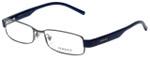 Versace Designer Eyeglasses 1094-1135 in Gunmetal 53mm :: Custom Left & Right Lens