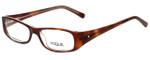 Vogue Designer Eyeglasses VO2546B-1471 in Brown 49mm :: Custom Left & Right Lens