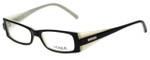 Vogue Designer Eyeglasses VO2389-1393 in Black White 49mm :: Rx Single Vision