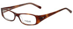 Vogue Designer Eyeglasses VO2546B-1471 in Brown 49mm :: Rx Single Vision