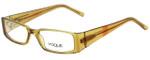 Vogue Designer Eyeglasses VO2557B-1663 in Brown 49mm :: Rx Single Vision