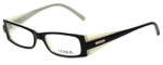 Vogue Designer Eyeglasses VO2389-1393 in Black White 49mm :: Progressive