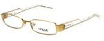 Vogue Designer Eyeglasses VO3618-280 in Gold 52mm :: Custom Left & Right Lens