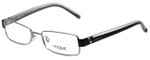 Vogue Designer Eyeglasses VO3644-831 in Silver Metallic 52mm :: Rx Single Vision