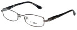Vogue Designer Eyeglasses VO3777B-548 in Gunmetal 52mm :: Custom Left & Right Lens