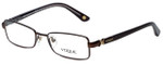 Vogue Designer Eyeglasses VO3778-896 in Brown 50mm :: Custom Left & Right Lens