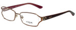Vogue Designer Eyeglasses VO3798B-756S-53 in Matte Light Pink 53mm :: Custom Left & Right Lens