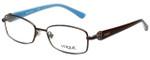 Vogue Designer Eyeglasses VO3845B-934S in Matte Brown 52mm :: Custom Left & Right Lens