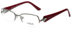 Vogue Designer Eyeglasses VO3864B-548 in Gunmetal Purple 51mm :: Custom Left & Right Lens