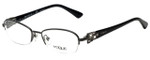 Vogue Designer Eyeglasses VO3881B-938 in Metal Black 51mm :: Custom Left & Right Lens