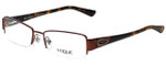 Vogue Designer Eyeglasses VO3891BI-811 in Brown Tortoise 51mm :: Custom Left & Right Lens
