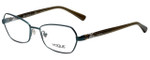 Vogue Designer Eyeglasses VO3970-981S in Green 53mm :: Custom Left & Right Lens