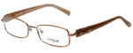 Vogue Designer Eyeglasses VO3713-813 in Bronze 51mm :: Progressive