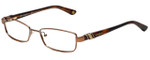 Vogue Designer Eyeglasses VO3749-813-52 in Brown 52mm :: Progressive
