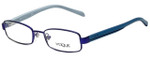Vogue Designer Eyeglasses VO3866-932S-48 in Matte Violet 48mm :: Progressive