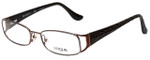 Vogue Designer Eyeglasses VO3910-811 in Brown 53mm :: Progressive