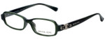 Michael Kors Designer Eyeglasses MK619-306 in Green 46mm :: Custom Left & Right Lens