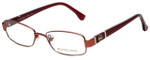 Michael Kors Designer Eyeglasses MK338-655-48 in Dark Blush 48mm :: Rx Single Vision
