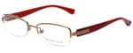 Michael Kors Designer Eyeglasses MK361-780 in Gold Red 49mm :: Progressive
