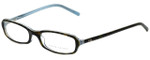 Ralph Lauren Designer Eyeglasses RL6017-5211 in Havana Azure 49mm :: Custom Left & Right Lens