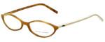 Ralph Lauren Designer Eyeglasses RL6011-5041 in Brown Ivory 51mm :: Rx Single Vision