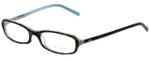 Ralph Lauren Designer Eyeglasses RL6017-5211 in Havana Azure 49mm :: Rx Single Vision