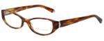 Ralph Lauren Designer Eyeglasses RL6108-5007-52 in Havana 52mm :: Rx Single Vision