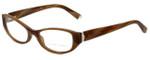 Ralph Lauren Designer Eyeglasses RL6108-5444-50 in  Brown Horn 50mm :: Rx Single Vision
