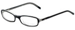 Ralph Lauren Designer Eyeglasses RL6017-5011 in Black Transparent 49mm :: Rx Bi-Focal