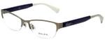 Ralph Lauren Designer Eyeglasses RA6042-170 in Matte Silver 52mm :: Custom Left & Right Lens