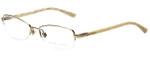 Ralph Lauren Designer Eyeglasses RL5055-9116 in Light Gold 51mm :: Custom Left & Right Lens