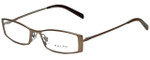 Ralph Lauren Designer Eyeglasses RA6036-452 in Bronze 49mm :: Rx Single Vision