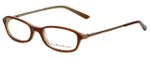 Ralph Lauren Polo Designer Eyeglasses Polo-8509-744 in Brown 44mm :: Rx Single Vision