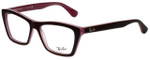 Ray-Ban Designer Eyeglasses RB5316-5386 in Brown Pink 53mm :: Progressive