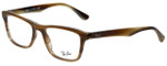 Ray-Ban Designer Eyeglasses RB5279-5542 in Brown Horn 53mm :: Custom Left & Right Lens
