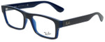 Ray-Ban Designer Eyeglasses RB7030-5397 in Blue 53mm :: Rx Single Vision