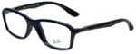 Ray-Ban Designer Eyeglasses RB8952-5606 in Blue Grey 53mm :: Progressive