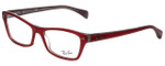 Ray-Ban Designer Reading Glasses RB5256-5189 in Shiny Red 52mm
