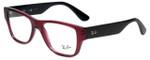 Ray-Ban Designer Reading Glasses RB7028-5394 in Wine Black 53mm