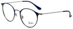 Ray-Ban Designer Eyeglasses RB6378-2906 in Blue 49mm :: Rx Single Vision