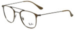 Ray-Ban Designer Eyeglasses RB6377-2909 in Gunmetal 48mm :: Progressive